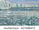 Small photo of Polar ice sheet melting