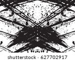 black and white vintage grunge... | Shutterstock .eps vector #627702917