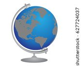 globe | Shutterstock .eps vector #627724037