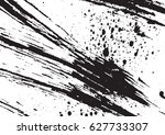 black and white vintage grunge... | Shutterstock .eps vector #627733307