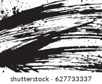 black and white vintage grunge... | Shutterstock .eps vector #627733337