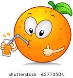 illustration of an orange... | Shutterstock .eps vector #62773501