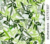 fresh geometric seamless... | Shutterstock .eps vector #627757307