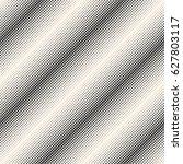 vector monochrome halftone... | Shutterstock .eps vector #627803117