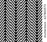 zigzag lines. jagged stripes.... | Shutterstock .eps vector #627803573