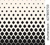 vector halftone pattern ... | Shutterstock .eps vector #627805733