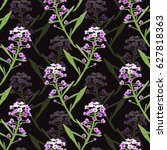 elegant seamless pattern with... | Shutterstock .eps vector #627818363