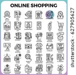 online shopping concept...