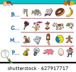 cartoon vector illustration of... | Shutterstock .eps vector #627917717
