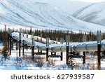 alaska's brooks mountain range... | Shutterstock . vector #627939587