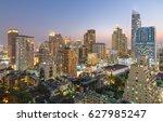 editorial  bangkok city ... | Shutterstock . vector #627985247