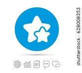 star icon. favorite sign. best... | Shutterstock .eps vector #628008353