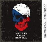 skull color of the flag | Shutterstock .eps vector #628020677