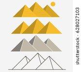 egypt pyramids  giza egyptian...