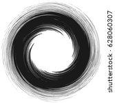 radial geometric element series.... | Shutterstock .eps vector #628060307