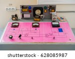 Small photo of Study of electromagnetic relays of constant and alternating current. Schematic diagram of solid state relay