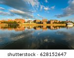 summer troy's riverfront ny | Shutterstock . vector #628152647