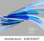 linear vector background | Shutterstock .eps vector #628193657