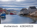 Peggy's Cove. A Rustic Fishing...