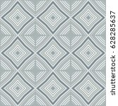 geometric vector pattern with... | Shutterstock .eps vector #628285637