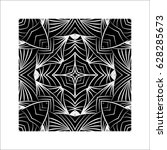 abstract geometric pattern ... | Shutterstock .eps vector #628285673