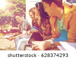 education  high school and... | Shutterstock . vector #628374293