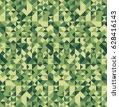 camouflage mosaic. background... | Shutterstock .eps vector #628416143