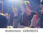disc jockey wearing headphones