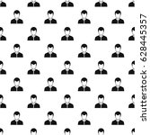 man pattern seamless in simple... | Shutterstock .eps vector #628445357