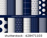 vector abstract classy navy...   Shutterstock .eps vector #628471103