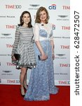 Small photo of Callie Schweitzer (L) and Arianna Huffington attend the Time 100 Gala at Frederick P. Rose Hall on April 25, 2017 in New York City.