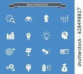 business solutions   vector... | Shutterstock .eps vector #628498817
