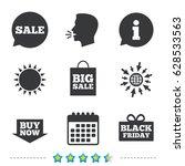 sale speech bubble icons. buy... | Shutterstock .eps vector #628533563