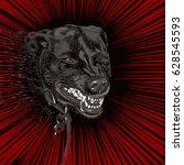 bad dog   Shutterstock .eps vector #628545593