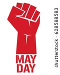 labor day background. 1st may... | Shutterstock .eps vector #628588583