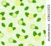 seamless pattern  cool... | Shutterstock . vector #628611023