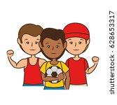soccer sport design | Shutterstock .eps vector #628653317
