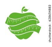 apple fruit icon | Shutterstock .eps vector #628654883