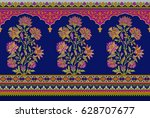 seamless traditional indian... | Shutterstock . vector #628707677