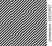 vector seamless pattern.... | Shutterstock .eps vector #628713917