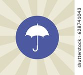 umbrella icon. sign design....