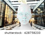 machine learning systems  ... | Shutterstock . vector #628758233