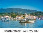 paraty  rio de janeiro   brazil.... | Shutterstock . vector #628792487