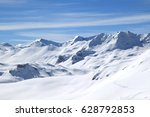 Winter In Alps  Tignes  France