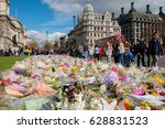 london  uk. 1st april 2017.... | Shutterstock . vector #628831523