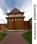Small photo of The palace of Tsar Alexei Mikhailovich in Kolomenskoye. Moscow, Russia.