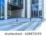 empty pavement and modern... | Shutterstock . vector #628873193