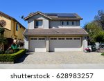 a wonderful two story cottage... | Shutterstock . vector #628983257