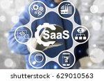 saas computing iot industry 4.0 ... | Shutterstock . vector #629010563