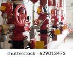 sprinkler wet alarm valves | Shutterstock . vector #629013473